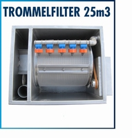 Trommelfilter RVS Small  25 m3