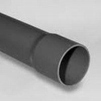 PVC buis  met lijmmof 110mm p/m 10 pn KIWA lengte 5 meter  meter