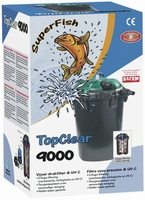 SF Top Clear UV 10000 / 9 watt  pomp 3000ltr  10000 ltr