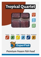 Superfish Tropisch kwartet  100 gram