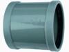 PVC mof, Overschuif 2x manchet SN4 110mm